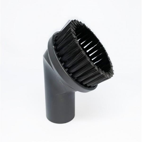 Bocal de escova redondo para aspirador bitola fina 32 mm