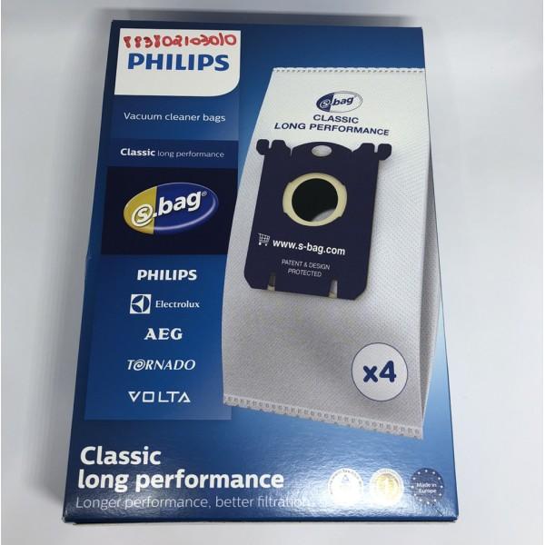 Saco descartável para aspirador de pó Philips FC8202, FC8208,  RI8310 e RI8333